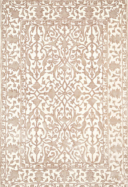 beige traditional handtufted living room rugs Beige Carpets & Rugs