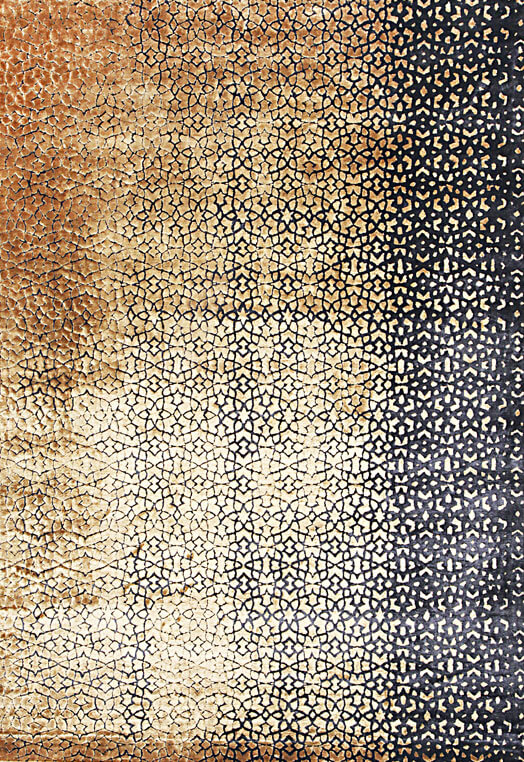 black and gold handmade area rugs urbane collection Black & Gold Carpets & Rugs