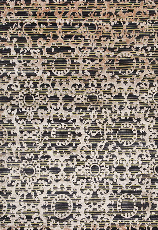 Fushia Gold carpets and rugs online Mumbai Green Gold Carpets & Rugs