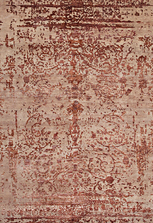bamboo silk hand knotted area rugs in Delhi Multi Carpets & Rugs