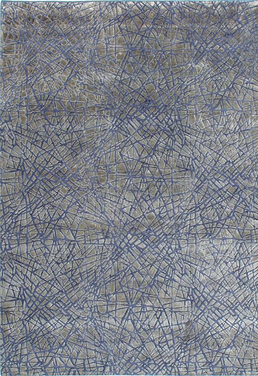 CHAOS Blue Blue  Carpets & Rugs