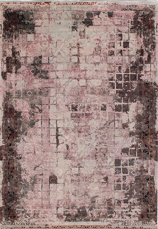 BELEZA Mauve Mauve Carpets & Rugs