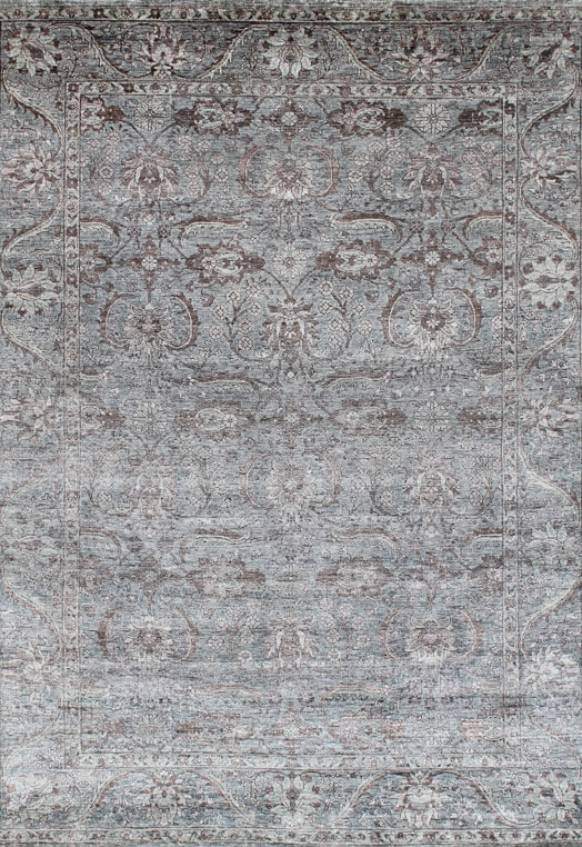 GEMMA Brown Grey Carpets & Rugs