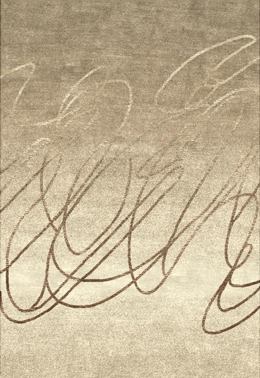 Scribble Beige Carpets & Rugs