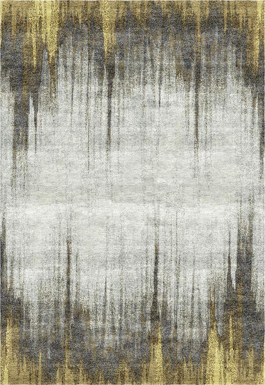 Mezzotint Gold Carpets & Rugs
