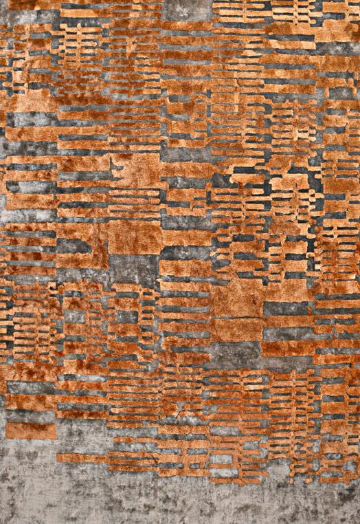 Osar Rust Rust Carpets & Rugs