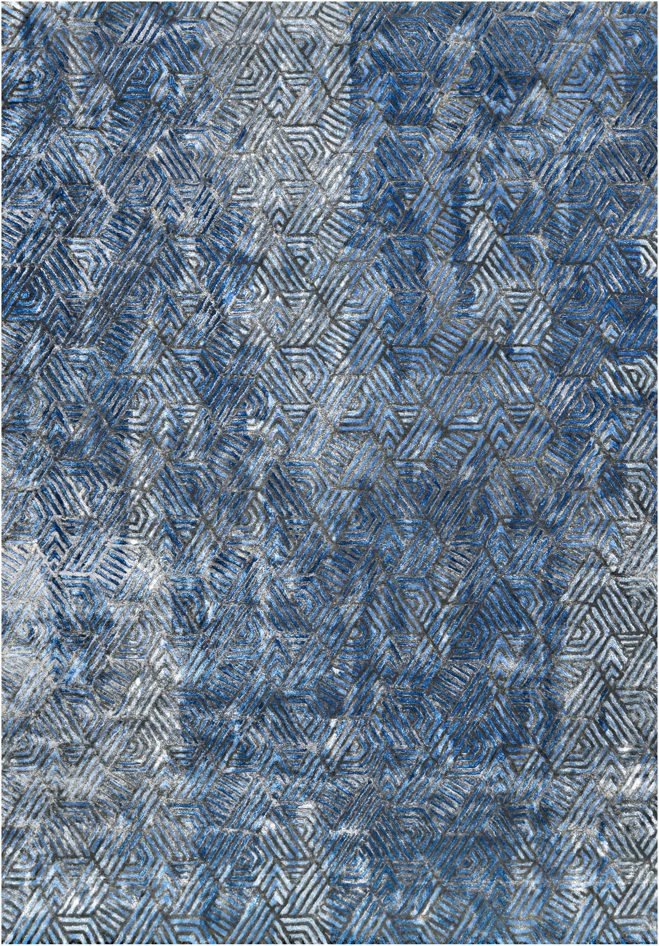 Arroyo Blue Blue  Carpets & Rugs