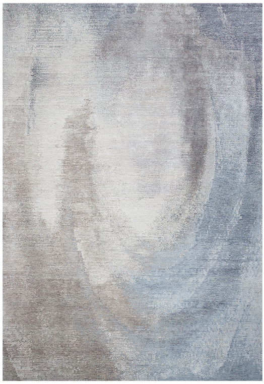 CT-161-02 Grey Blue Carpets & Rugs