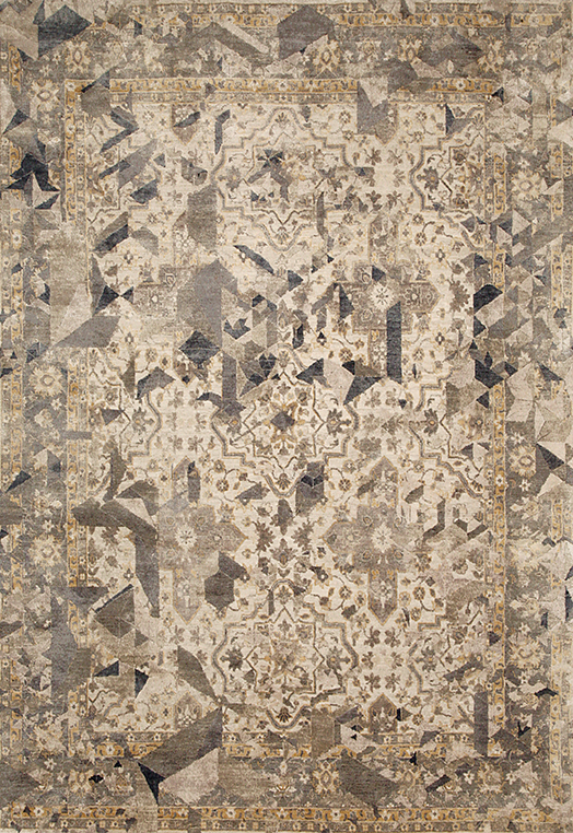 Elixir Grey Beige Grey Beige Carpets & Rugs