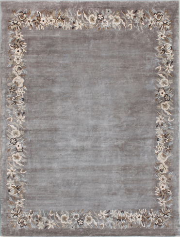 Florus Silver Taupe Carpets & Rugs