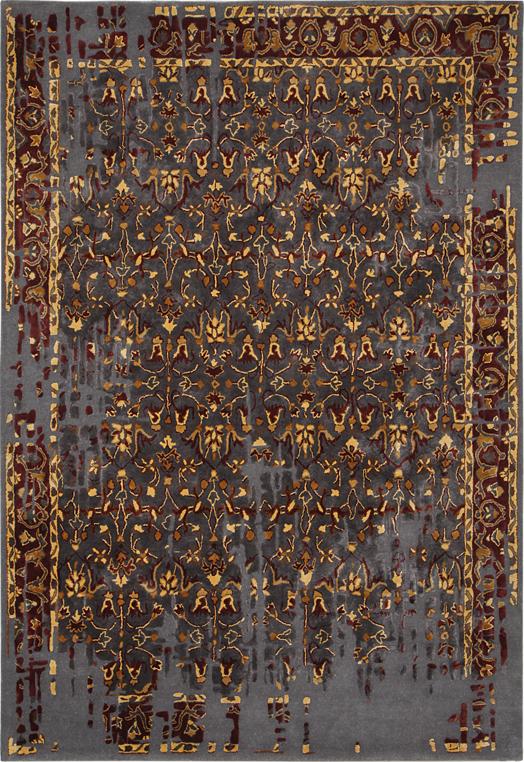 Red grey best designer carpets delhi Red Grey Carpets & Rugs