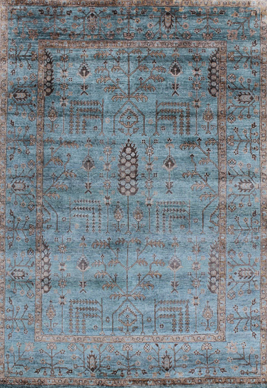 MARGITA Blue  Carpets & Rugs