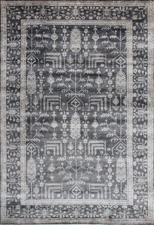 MARGITA Charcoal Carpets & Rugs