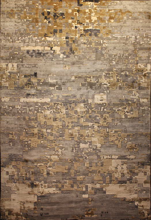 Metis Charcoal Gold Charcoal Gold Carpets & Rugs
