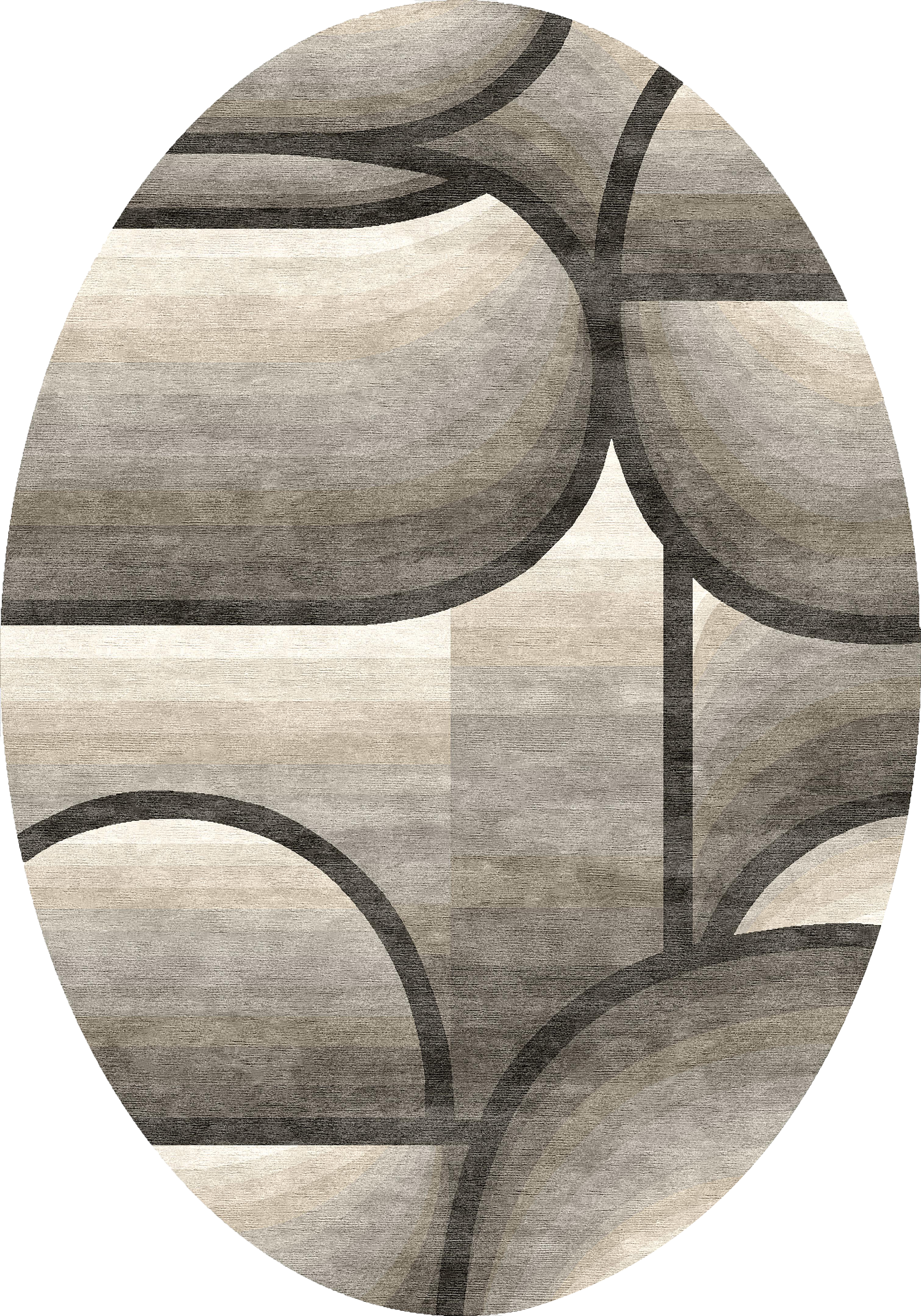 Orbic Taupe Grey Carpets & Rugs