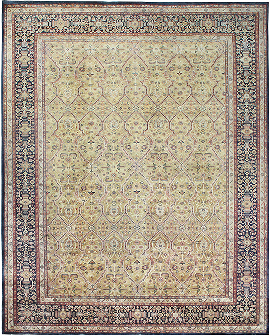 P-1807 Beige Brown Carpets & Rugs