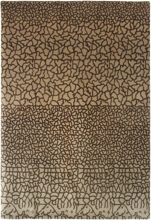 P-20148 Brown Beige Carpets & Rugs