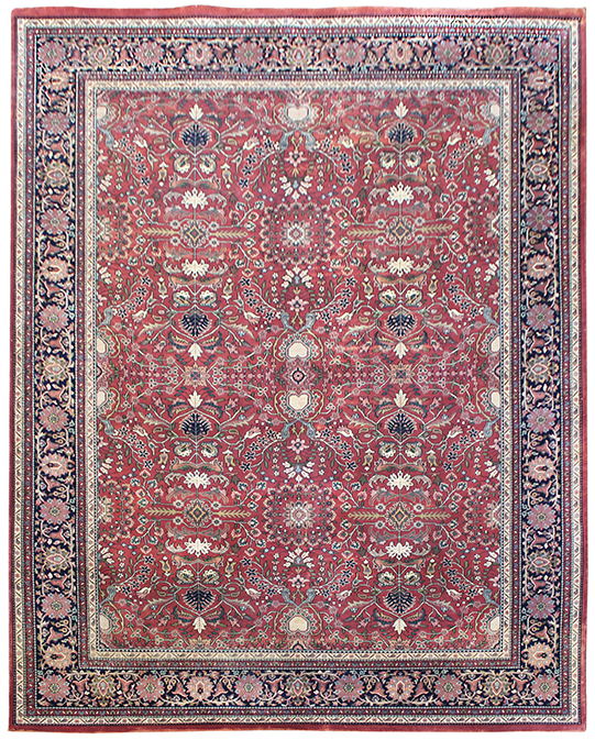 P-2737 Multi Red Carpets & Rugs
