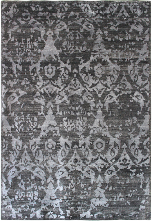 P 34610 Grey Silver Carpets & Rugs