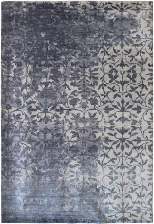 P 36896 Grey Silver Carpets & Rugs