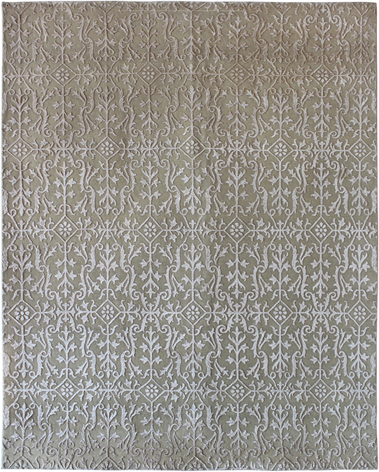 P-31494 Beige Ivory Carpets & Rugs
