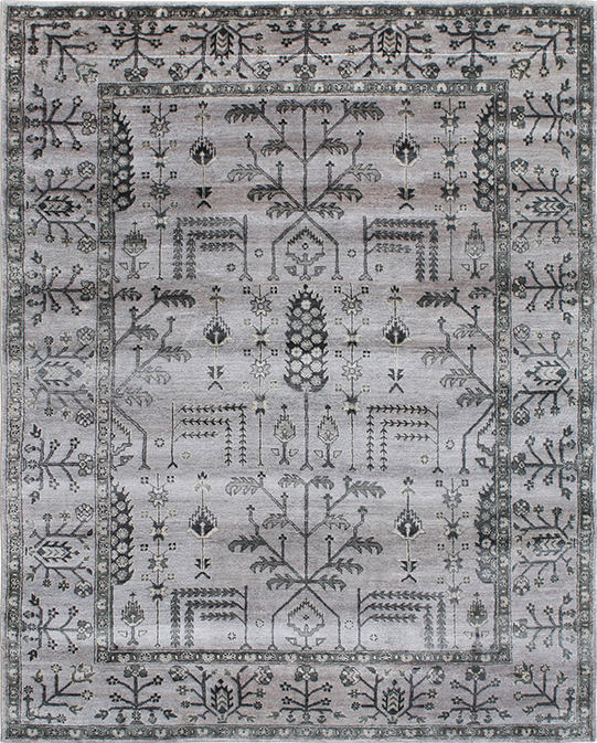 P-4026 Grey Carpets & Rugs