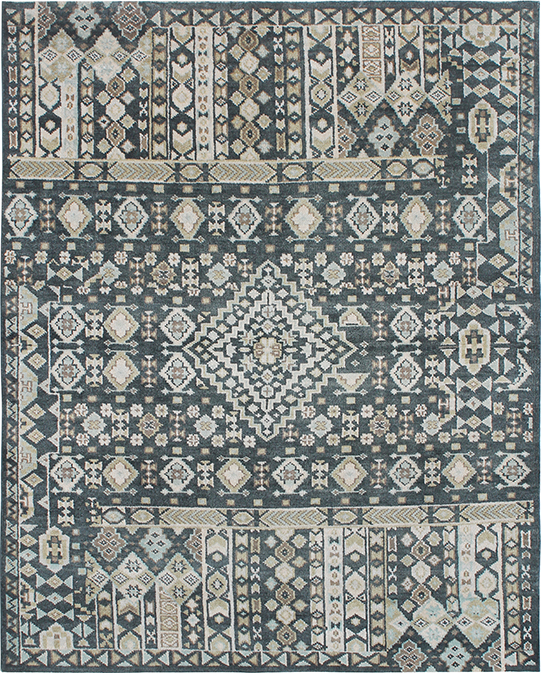 P-4036 Multi Grey Carpets & Rugs