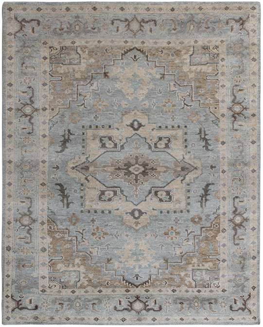 P-4199 Beige Grey Carpets & Rugs