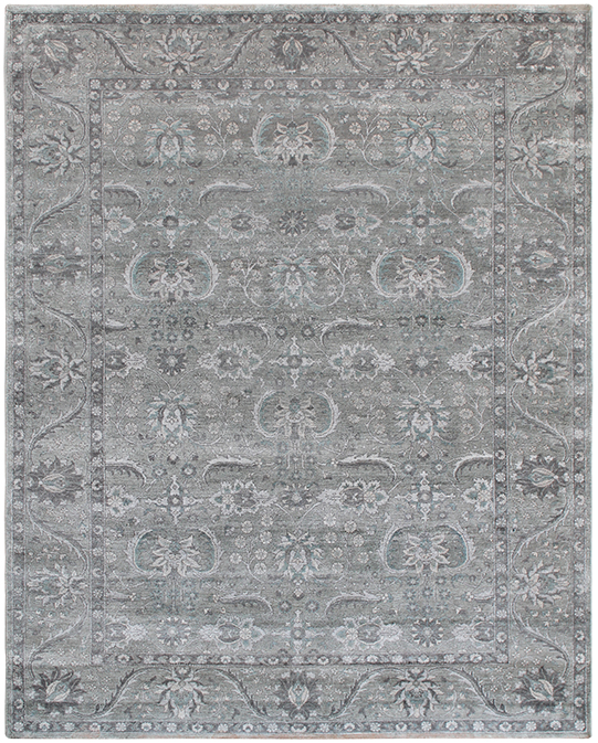 P-4202 Grey Carpets & Rugs