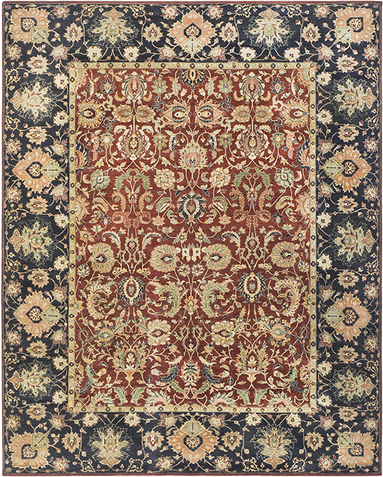 P-4232 Multi Red Carpets & Rugs