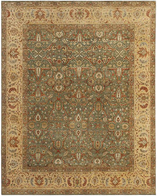 P-4242 Beige Multi Carpets & Rugs