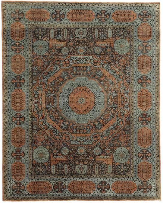 P-4391 Rust Carpets & Rugs