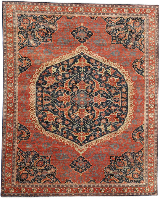 O-MEDALIAN (P-4397) Red Carpets & Rugs