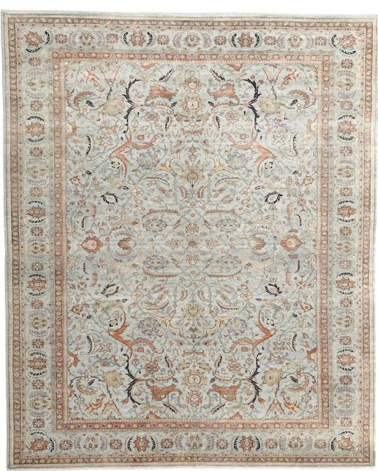TABRIZ-127 (P-4401) Light Blue Carpets & Rugs