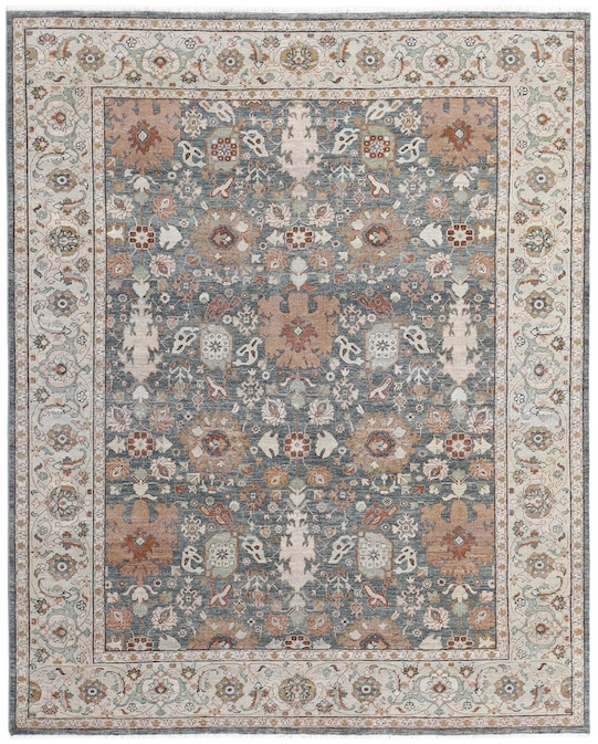 P-4403 Ivory Carpets & Rugs