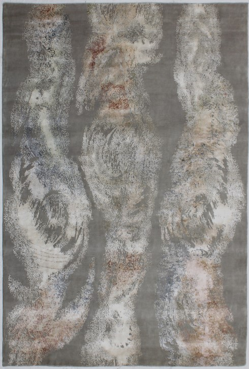 P 4718 Rust & Ivory Carpets & Rugs