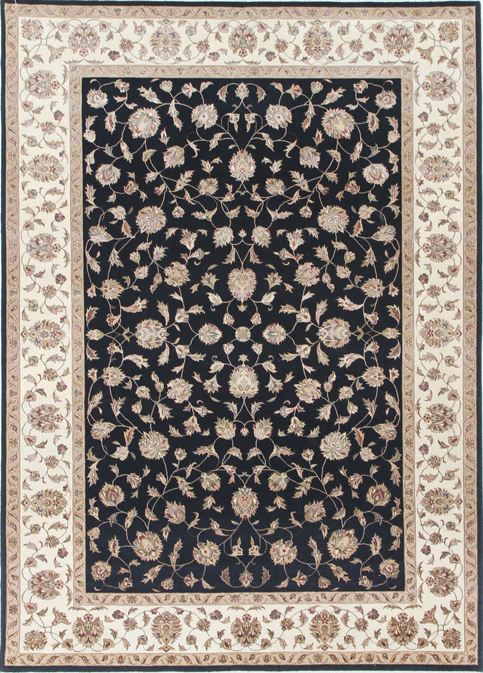 persian carpets and rugs Beige Black Carpets & Rugs
