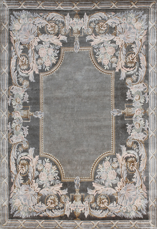 Suzette Multi Grey Carpets & Rugs