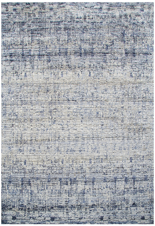 Trible-6 (A) Silver Blue Carpets & Rugs