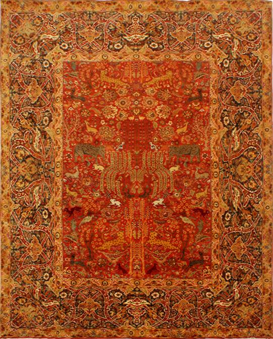 persian KE-7 Red Carpets & Rugs
