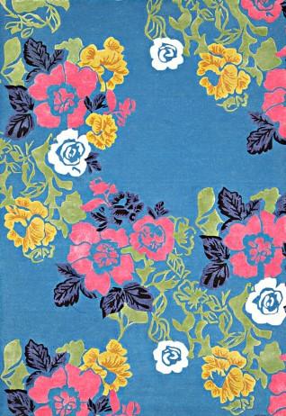 Savannah Blue Multi Carpets & Rugs
