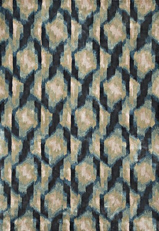 Melange Green Blue Carpets & Rugs