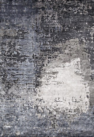 Atia Grey Blue Carpets & Rugs