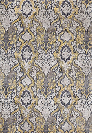 Alluriana Yellow Beige Carpets & Rugs