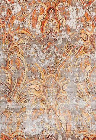 Zaiba Ivory Rust Carpets & Rugs
