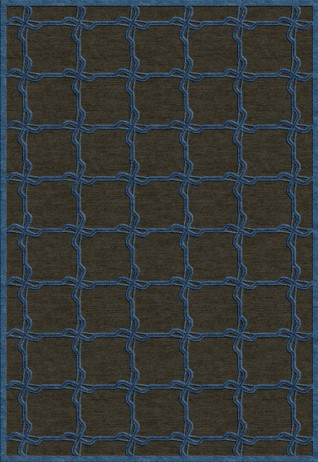 Treccia Blue  Carpets & Rugs