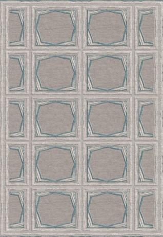 Ekara Teal Carpets & Rugs