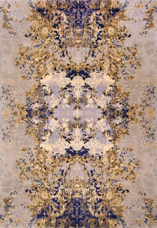 AKASA Purple Gold Carpets & Rugs