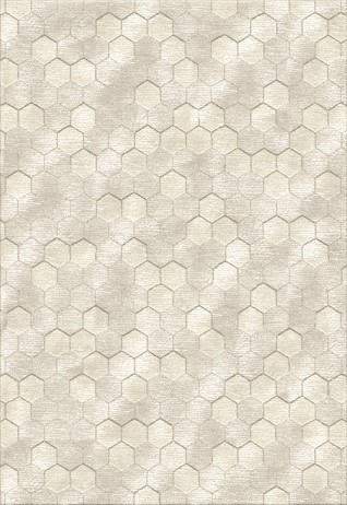 Honeycomb Ivory Beige Carpets & Rugs