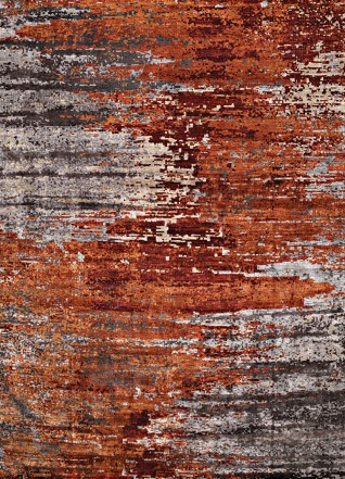 Zircon Rust Carpets & Rugs